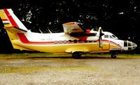 HA-YFC - Farnair Let 410 operated parachute jumps ar Cark Airfield in Lancashire in 2001