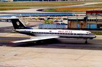 EW-65085 @ EDDF - Belavia Tu134 at Frankfurt in 2000
