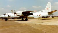 1602 @ EGVA - Polish AF AN-26 at Fairford in 1997