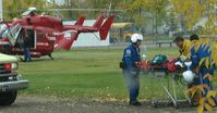 C-FKCM - Saving a Life - Bonnyville Hospital 09SEP07 - by Bob Dick