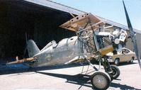 N9022 @ GPM - Doc Morel's Boeing F4B4 under rebuild at Grand Prairie 1988