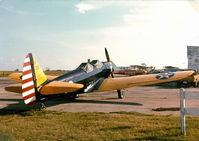 N51173 - PT-19 ath the Former Blue Mound Ft. Worth, TX Airport  -  http://www.airfields-freeman.com/TX/Airfields_TX_FtWorth_N.html#bluemound