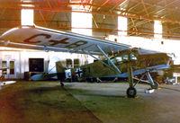 N43FS @ FTW - CAF Storch at Meacham Field