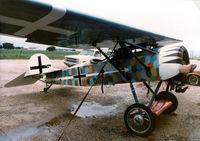 N9782A @ 52F - Fokker D-VIII replica built by Bob Ralston