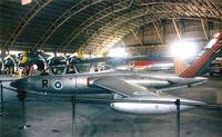 N19JV @ FTW - Fouga - Visitor at the Vintage Flying Museum