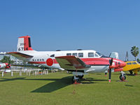 6714 - Beech 65 Queen Air/JMSDF Museum,Kanoya - by Ian Woodcock