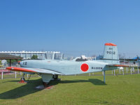 9012 - Fuji T-34A/JMSDF Museum,Kanoya - by Ian Woodcock