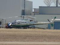 N43VP @ GPM - At Eurocopter Grand Prairie, TX - by Zane Adams