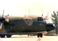 2463 @ FTW - Brazilian C-130 at Meacham Field - by Zane Adams