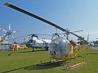 8753 - Bell 47 G-2A/JMSDF Museum,Kanoya - by Ian Woodcock