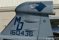 160436 @ NTU - Love their insignia, not to mention tailcode.  Suppose one day it'll be on an EF-18G - by Paul Perry