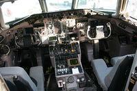 N921DL @ DTW - Delta cockpit