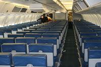 N125DL @ ATL - Delta 767-300 cabin