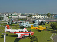 6714 - Beech 65 Queen Air/JMSDF Museum,Kanoya (museum overview of front display area) - by Ian Woodcock