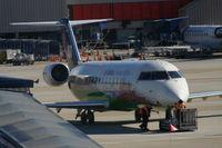 N849AS @ ATL - Atlanta skyline jet