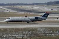 N457AW @ CVG - US Airways Express