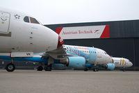 OE-LVK @ VIE - Austrian Arrows Fokker 100 in Euro 2008 special colors