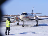 C-FYWG @ YSB - Taken at the airport Sudbury, ON, Canada -29 C - by Richard Lloyd
