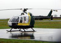G-WAAN @ EGNC - Great North Air Ambulance at its Carlisle base