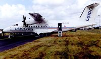 OK-CZD @ EGLF - Let 610 displayed at 1998 Farnborough Air Show