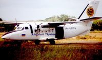 UR-67199 - Seen here in 2001 when the aircraft was based at Langar Airport as a jumping platform for the skydivers