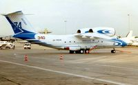 UR-74038 @ LFPB - Pictured during 1997 Paris Air Show week