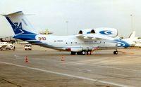 UR-74038 @ LFPB - Pictured during 1997 Paris Air Show week