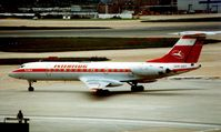 DDR-SDT @ EGLL - In 1987 , the former East German state airline , Interflug , operated a series of charters into Heathrow - by Terry Fletcher