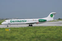 D-AGPN @ LMML - Germania F100 - by Andy Graf-VAP