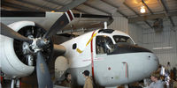 N31957 @ EFD - Collings Foundation S2 Tracker in the hanger at Ellington Field - PS photomerge