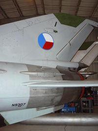 N9307 @ EFD - Czech MIG-21 at Ellington Field