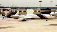 RA-85632 @ EDDF - Pulkova Tu 154 taxies in at Frankfurt in 1995