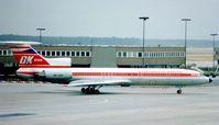 OK-UCE @ EDDF - CSA Tu154 taxies in at Frankfurt in 1990