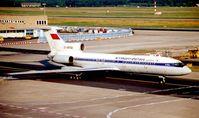 EX-85762 @ EDDF - Air Kyrghystan Tu 154 at Frankfurt in 2000