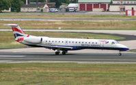 G-ERJF @ EDDF - British Airways Emb145 lands at Frankfurt in 2004