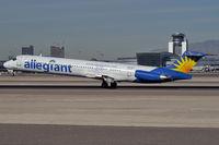 N873GA @ KLAS - Allegiant Air / 1988 McDonnell Douglas MD-83