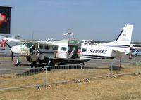 N208AZ @ EGLF - Displayed at the 2006 Farnborough Air Show