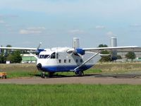 G-BEOL - This Skyvan was in use at the Langar Skydiving Centre in 2005