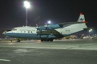 UR-CBF @ VIE - Aerovis Antonov 12