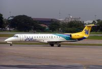 HS-PBE @ VTBD - PB Air Embraer 145  at Bangkok in 2005