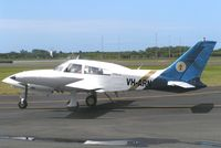 VH-ARN @ YWVA - Cessna 310R taxies in at Warnervale , New south Wales , Australia in 2005