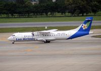 RDPL-34132 @ VTBD - An exotic registration on a colouful aircraft in Lao airlines livery at Bangkok in 2005