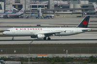 C-GJWI @ KMIA - Air Canada A321