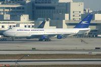 LV-MLP @ KMIA - Aerolineas Argentinas 747-200 - by Andy Graf-VAP