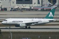 N588MX @ KMIA - Mexicana A319 - by Andy Graf-VAP