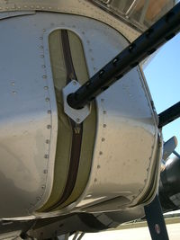 N5017N @ GKY - Aluminum Overcast visit to Arlington, TX - Chin Turret - by Zane Adams