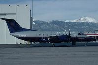 N297UX @ KCOS - United Express Embraer 120