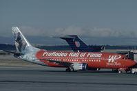 N375TA @ KCOS - Western Pacific Boeing 737-300