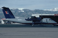 N448YV @ KCOS - United Express Dash8-100