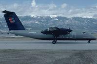 N449YV @ KCOS - United Express Dash8-100